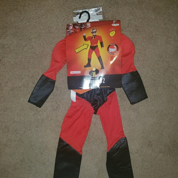 Disney The Incredibles Child Dash Costume